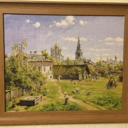 Золотое руно московский дворик вышивка 763