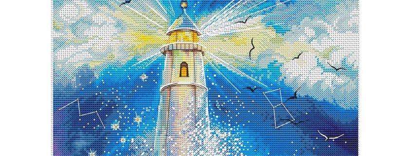 Авторская схема для вышивки крестом Екатерины Волковой - Маяк