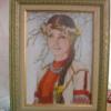 Отшив схемы для вышивки крестом Екатерины Волковой - Весна