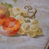 Отшив авторской схемы для вышивки крестом Екатерины Волковой - Натюрморт со сливами