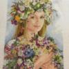 Отшив схемы для вышивки крестом Екатерины Волковой - Лето