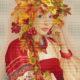 Авторская схема для вышивки крестом Екатерины Волковой - Осень