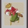 Схема из буклета авторских схем Екатерины Волковой - Кавалер-мышь