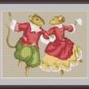 Схема из буклета авторских схем Екатерины Волковой - Танец