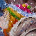 Отшив схемы для вышивки крестом Екатерины Волковой - Воспоминание детства