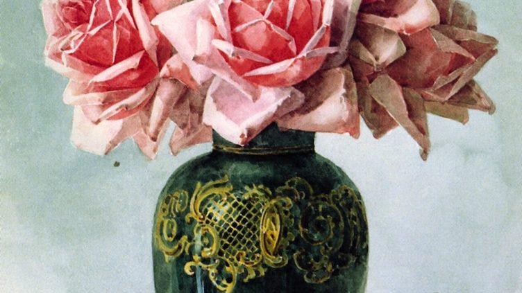 Розы в вазе - Поль Де Лангре