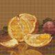 Авторская схема для вышивки крестом Екатерины Волковой - Апельсин