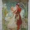 Отшив схемы для вышивки крестом Екатерины Волковой - Снегурка и Мизгирь