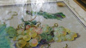 Отшив схемы для вышивки крестом Екатерины Волковой - Виноград