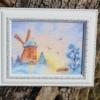 Отшив авторской схемы для вышивки крестом Екатерины Волковой - Зимний сон 2