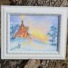 Отшив авторской схемы для вышивки крестом Екатерины Волковой - Зимний сон