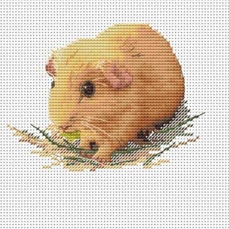 Авторская схема для вышивки крестом Екатерины Волковой - Свинка 1