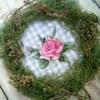 Отшив авторской схемы для вышивки крестом Екатерины Волковой - Роза