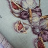 Отшив авторской схемы для вышивки крестом Екатерины Волковой - Чеснок