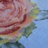 Отшив авторской схемы для вышивки крестом Екатерины Волковой - Роза-Вдохновение