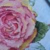 Отшив авторской схемы для вышивки крестом Екатерины Волковой - Роза-Обещание