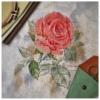 Отшив авторской схемы для вышивки крестом Екатерины Волковой - Роза-Восхищение