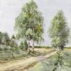 Авторская схема для вышивки крестом Екатерины Волковой - Просёлок