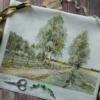 Отшив авторской схемы для вышивки крестом Екатерины Волковой - Просёлок