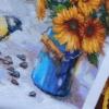 Отшив авторской схемы для вышивки крестом Екатерины Волковой - Брызги солнца