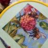 Отшив авторской схемы для вышивки крестом Екатерины Волковой - Сладкий клевер
